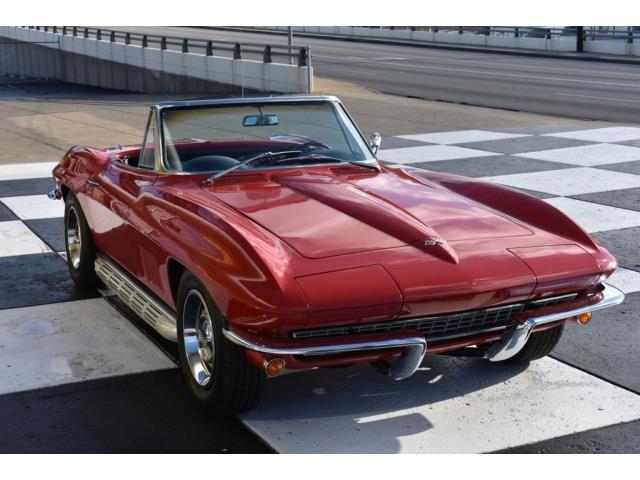 chevrolet corvette cabriolet c2 1967 boss importation de voitures am ricaines. Black Bedroom Furniture Sets. Home Design Ideas